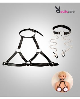 Restraints Nipple Clamps Slave Collar Fetish