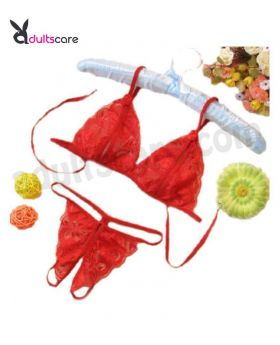 Fashion cup bra and GString panty Inner Wear