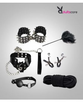 Romantic Couple Bondage 6pcs Restraint Set Kit
