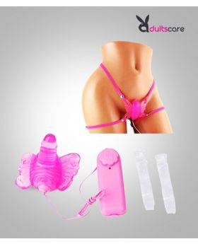 Butterfly Strap On Penty Vibrator - Multi Speed