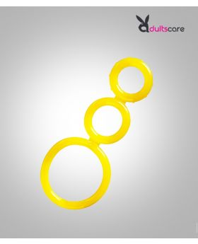3pcs Silicone Cock Ring