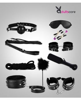 Ki-Ki Do YOU LOVE ME COUPLES BONDAGE 10PC MASTER Kit