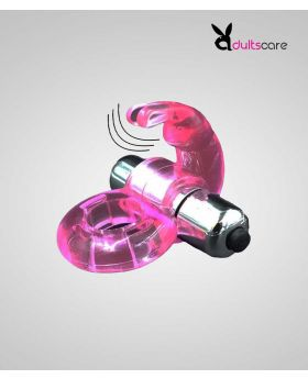Penis Ring Silicone Vibrating Cock Ring