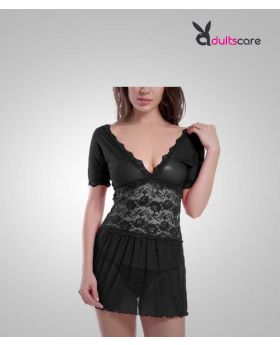 Baby doll Black Lingerie nightwear