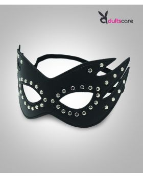 Bdsm Leather Cat Eye Mask