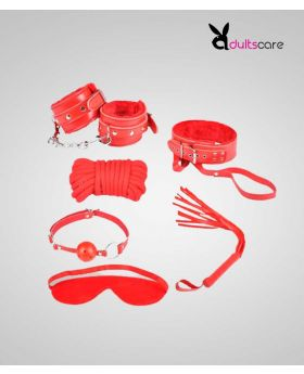 6 Piece Kit For women (Red/Black Color)