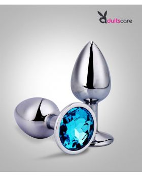 Anal Beads Crystal Jewelry Steel Butt Plug