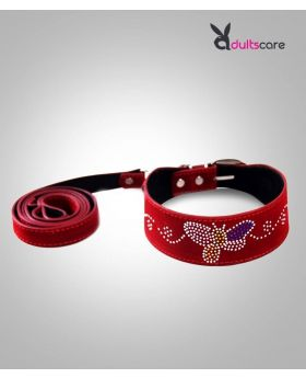 Romantic Red Neck Collars BDSM Harness Bondage