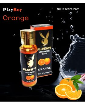 Playboy Lube - ORANGE
