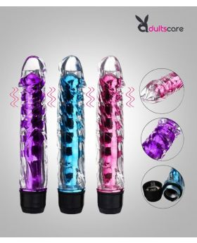 Multi Speed Soft Jelly Stick Vibrator