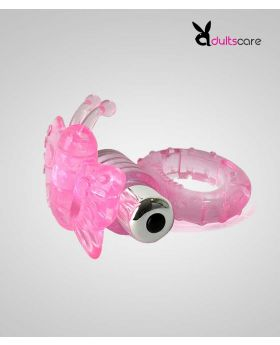 Butterfly Penis Ring with Removable Bullet