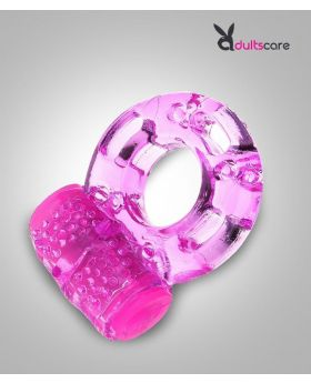 Silicone  Delay Vibrating Cock Ring