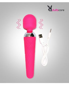 Rechargable Wand Massager Adult Toy With 10 Vibration Modes